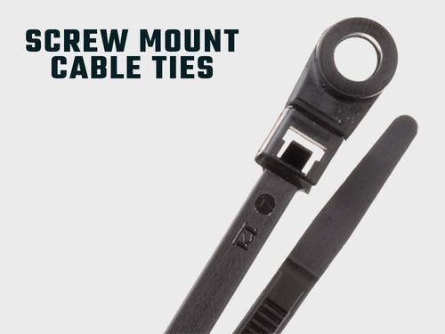 Kabelbinder mit Schraubbefestigung