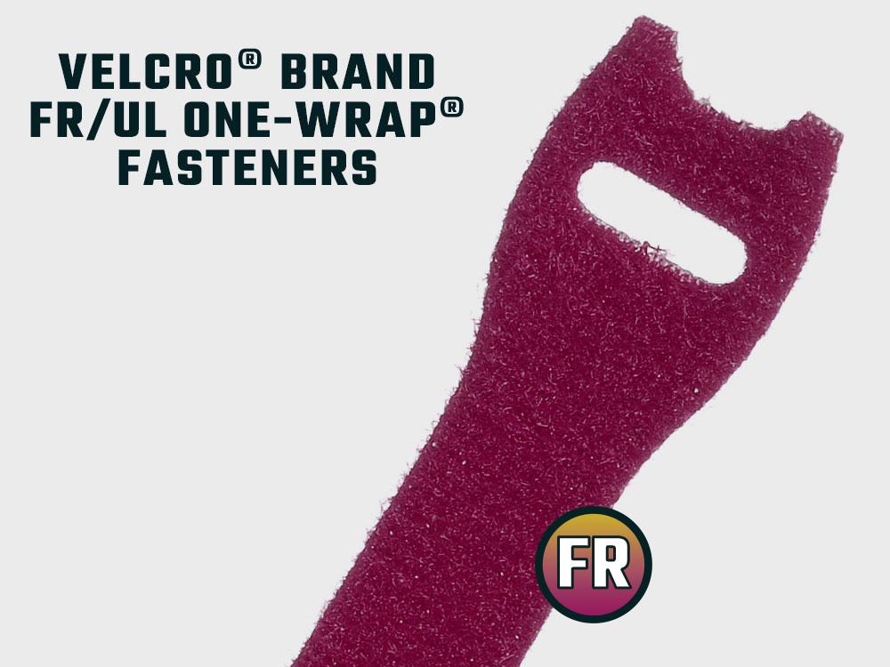 Flammhemmend VELCRO® Brand ONE-WRAP® Kabelbinder
